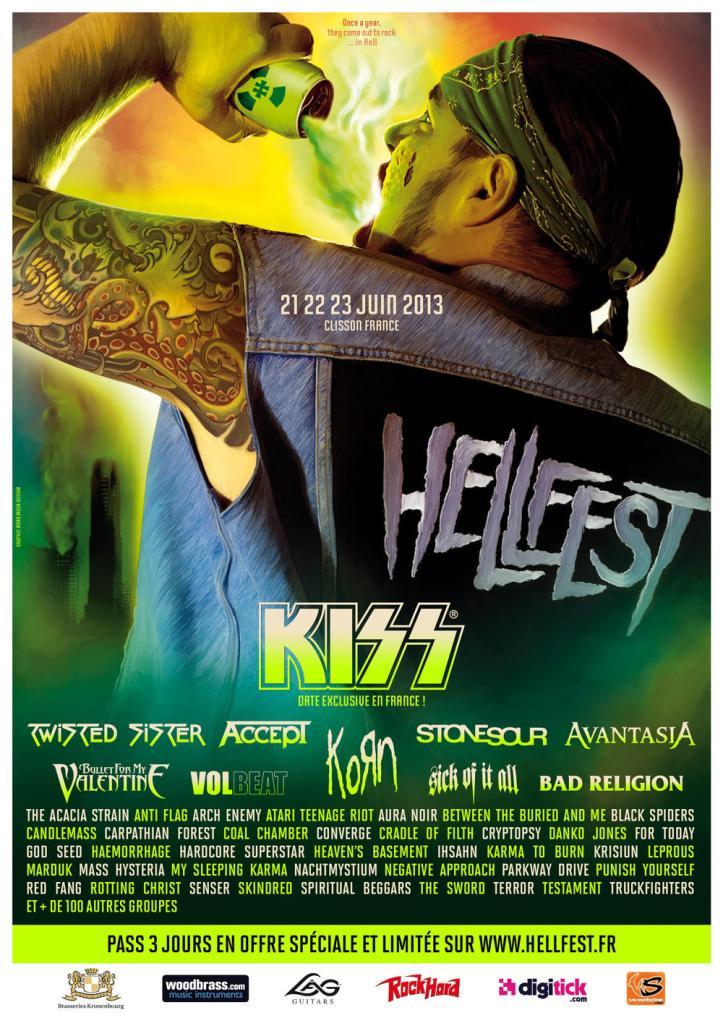 Hellfest 2013 : à boire et à gerber.